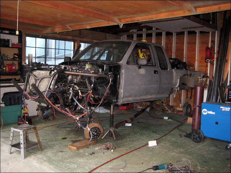 wiring a lexus 1uz fe v8 engine into race truck fourwheelforum rh fourwheelforum com 2012 Chevy Truck Wiring Diagram Ford F-150 Wiring Harness